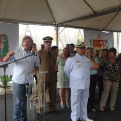 Pavan participa da troca de comando do 12º Batalhão da PM em Balneário Camboriú