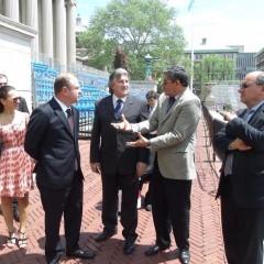 Comitiva catarinense apoia acordo para fortalecer laços comerciais entre Brasil e EUA