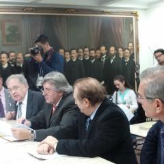 Fórum do Pacto Federativo entrega  propostas à Mesa da Assembleia