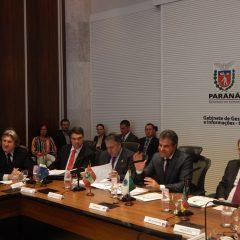 Pavan acompanha reunião do Codesul em Curitiba